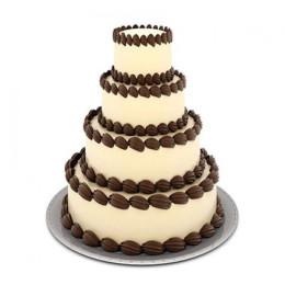 4 Tier Creame Cake - 5 KG