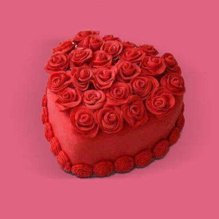 Heart Full Of Rose - 500 Gm