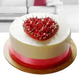 Expressyourlove_Rose Cake - 500 Gm