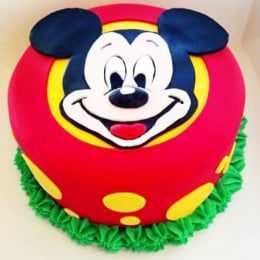 Micky Bithday Cake - 500 Gm
