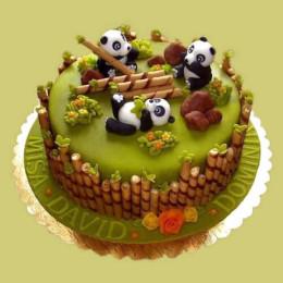 Panda Cake - 2 KG