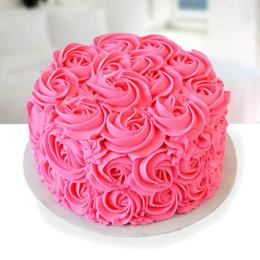 Pinkrose Cake - 500 Gm