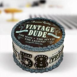 Premium Vintage Cake - 500 Gm