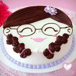 Sweet Girl Cake - 500 Gm