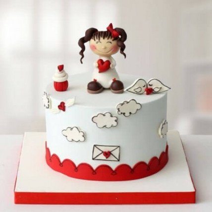 Sweet Little Doll Cake - 1 KG