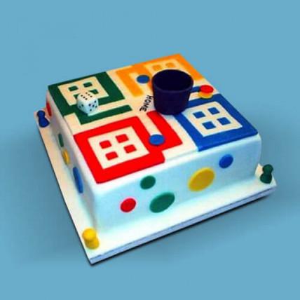 Ludo Artistic Biirthday Cake - 2 KG