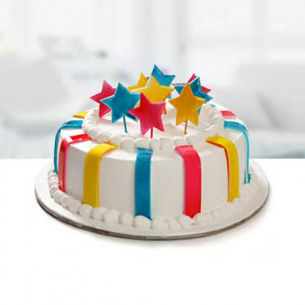 Special Delicious Colorful Cake - 500 Gm