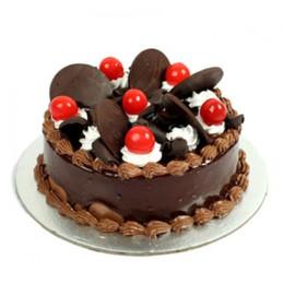 Choco Cherry Cake - 500 Gm