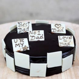 Choco Play Cake For Dad - 500 Gm