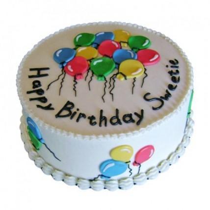 Charm Of Balloons Cake - 500 Gm