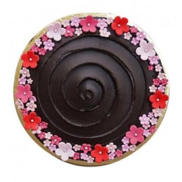 Semi Fondant Chocolate Cake - 1 Kg