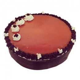 Adorable Choco Cream Cake - 500 Gm