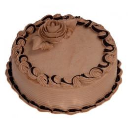 Butter Cream Chocolate Cake - 500 Gm