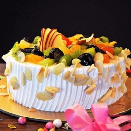 Effervescent Fruit Cake - 500 Gm