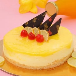 Zesty Lemon Cheesecake - 500 Gm