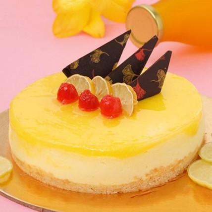 Zesty Lemon Cheesecake - 500 Gm