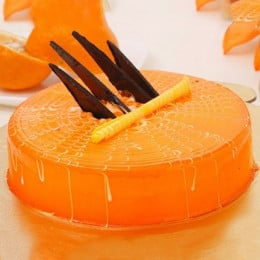 Orange Tangyliscious Cake - 500 Gm