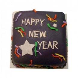 Chocolaty New Year Cake - 500 Gm