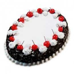 Oval Blackforest Spell 1Kg Parent - 500 Gm