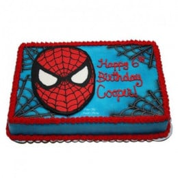 Mask Of Spiderman Cake - 500 Gm