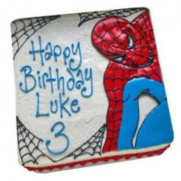 Web Of Spiderman Cake - 500 Gm