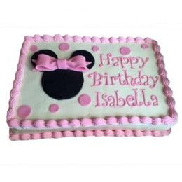 Minnie Mouse Yummy Cake - 500 Gm