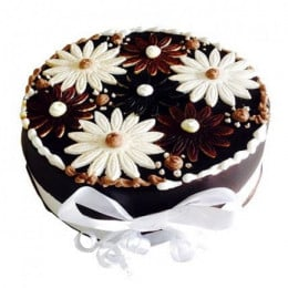 Floral Cake - 500 Gm