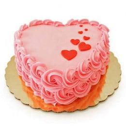 Floating Hearts Cake - 1 kg