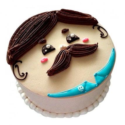 Lovely Designer Cake - 500 Gm