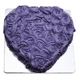 Sweet Heart Shape Cake - 500 Gm
