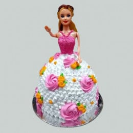 Floral Barbie Cake - 2 KG