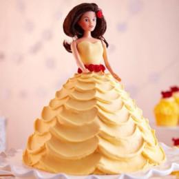 Lovely Barbie Cake - 2 KG
