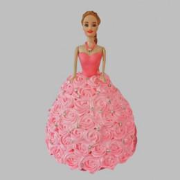 Classy Barbie Cake - 2 KG