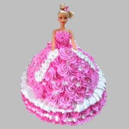 Rosy Barbie Cake - 2 KG