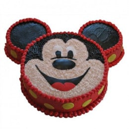 Smiley Mickey Mouse Cake - 2 KG
