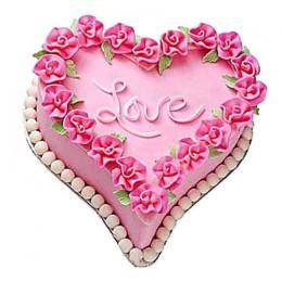 Gift A Heart Cake - 500 Gm