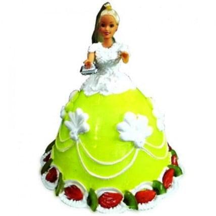 The Lovely Barbie Cake - 2 KG