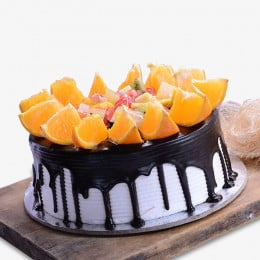 Fruity Blackforest Cake - 500 Gm