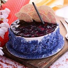 Blueberry Jelly Cake - 500 Gm