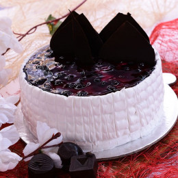 Yummy Blueberry Cake - 500 Gm