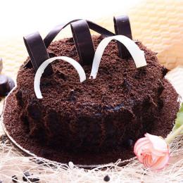 Velvety Choco Truffle Cake - 500 Gm