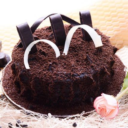 Velvety Choco Truffle Cake - 1 kg