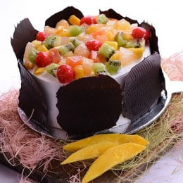 Marvellous Fresh Fruit Cake - 500 Gm