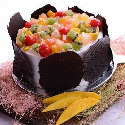 Marvellous Fresh Fruit Cake - 500 Gm