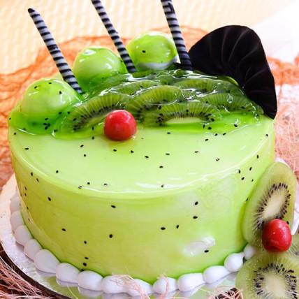 Kiwi Surprise Cake - 500 Gm