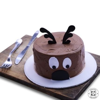 Christmas Chocolate Cake-500 Gm