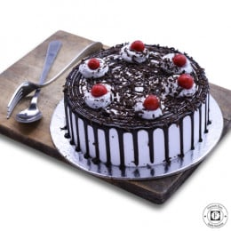 Deep Blackforest Cake-500 Gm