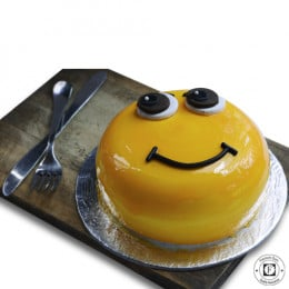 Kids Smiley Cake-500 Gm