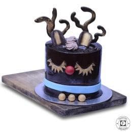 Raindeer Christmas Cake-1 Kg