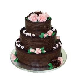 Choco Wedding Cake-3 Kg
